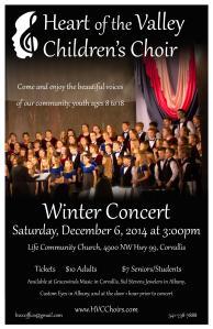winter concert poster
